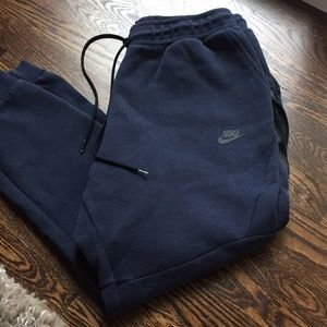 Men's NIKE sweat pants with side zip